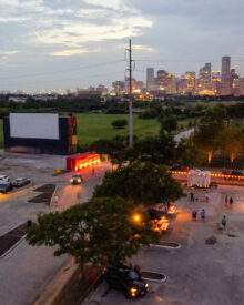 Best Drive In Movie Theaters in Houston - Moonstruck Drive In