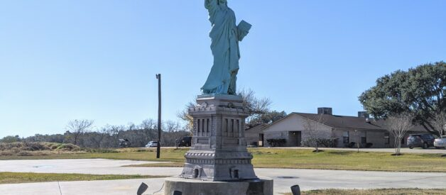 Statue of Liberty in Texas